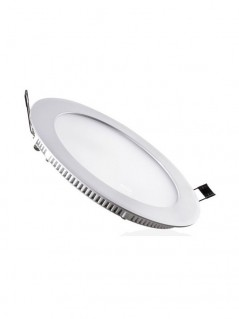 Downlight LED extraplano de empotrar redondo 18W